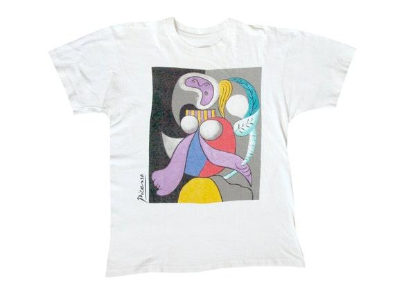 Pablo Picasso Femme A La Fleur T-Shirt