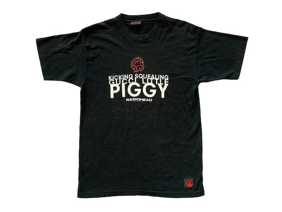 Radiohead Kicking Squealing Gucci Little Piggy T-Shirt