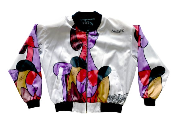 ablo Picasso Woman All Over Graphic Jacket