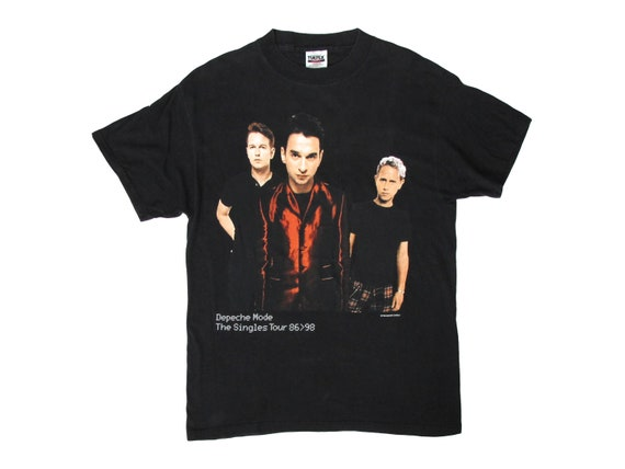 Depeche Mode The Singles 1998 USA Tour T-Shirt
