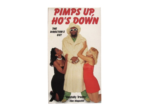 Pimps Up Ho's Down The Director's Cut VHS