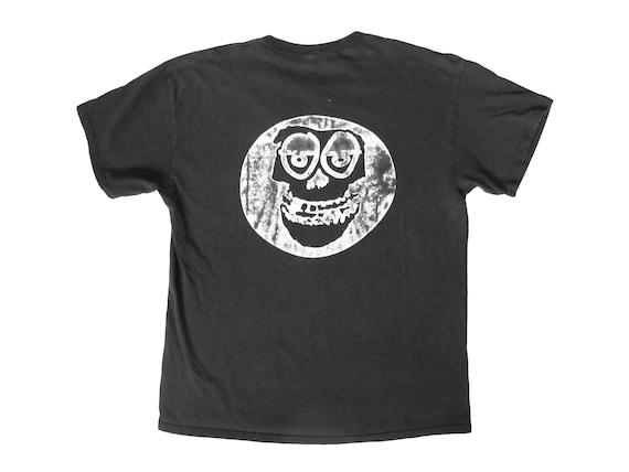 Krooked Skateboarding x Misfits Crimson Skull T-Shirt