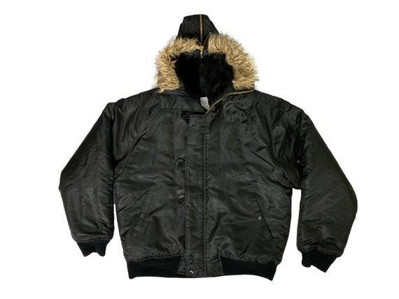 Black Type N-2B Parka Jacket