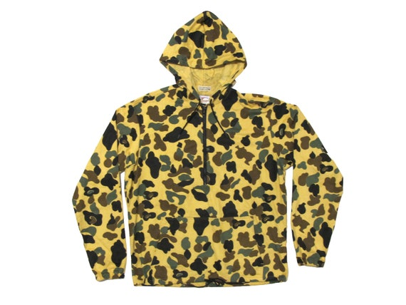 Prentiss Outdoor Quarter Zip Hooded Camouflage Pull Over