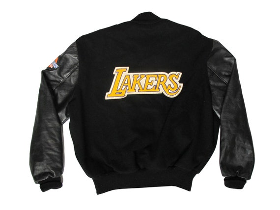 Los Angeles Lakers Embroidered Letterman Varsity Jacket