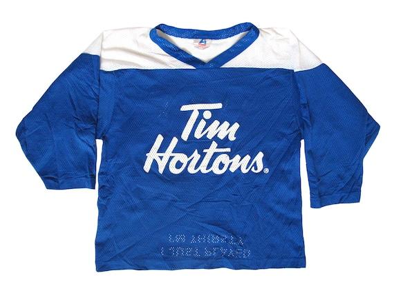 Tim Hortons TimBits Blue & White Hockey Jersey