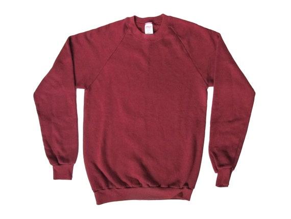 Jerzees by Russell Blank Maroon Sweatshirt