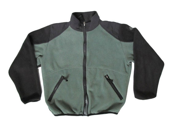 Nike ACG Teal & Black Fleece Pull Over