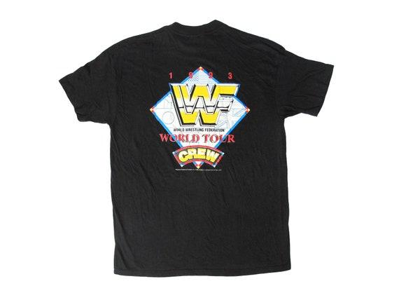 WWF 1993 World Tour Crew T-Shirt