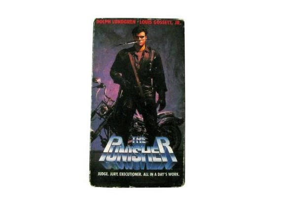The Punisher VHS