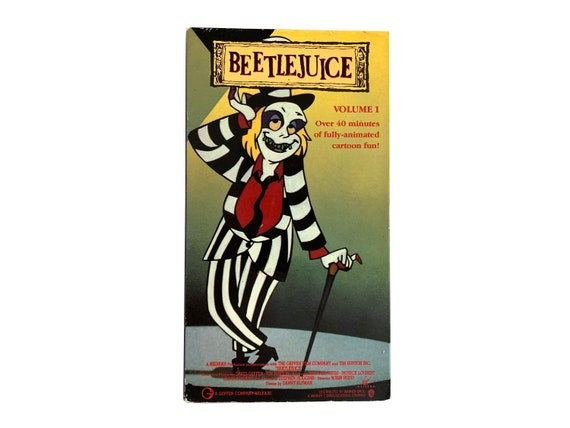 Beetlejuice Vol 1 Animated VHS