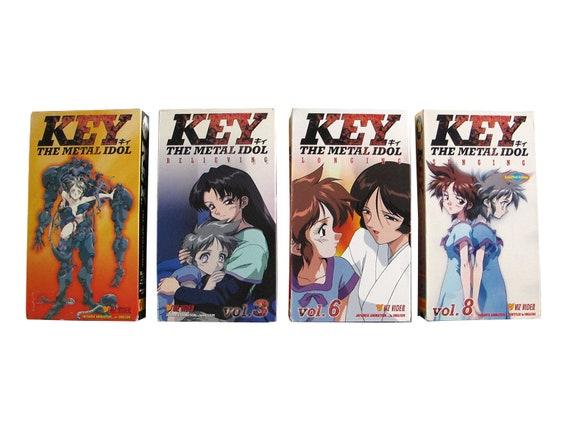 Key The Metal Idol 4x VHS