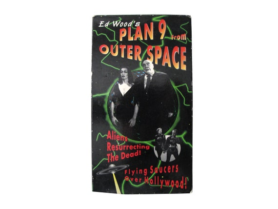 Plan 9 From Outer Space VHS