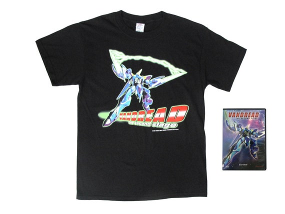 Vandread the Second Stage T-Shirt & DVD
