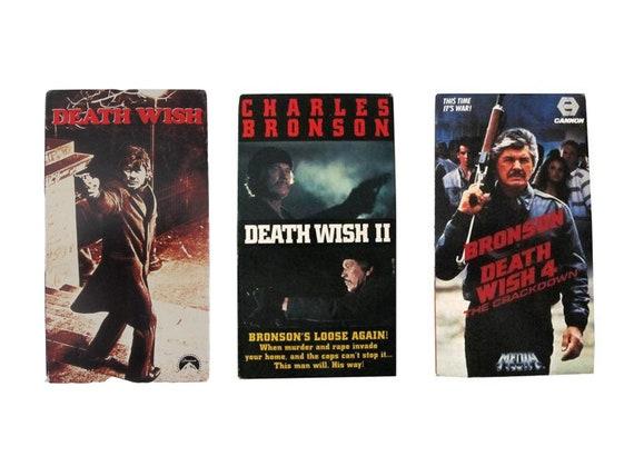 Death Wish 1,2 & 4 VHS
