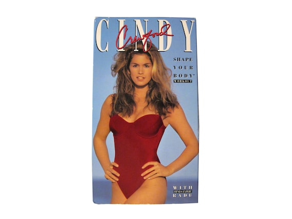 Cindy Crawford Shape Your Body Workout VHS