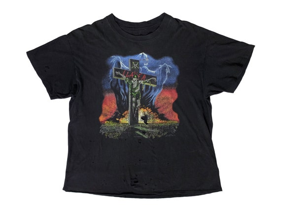 Slayer Touring in the Abyss 1991 US Tour T-Shirt