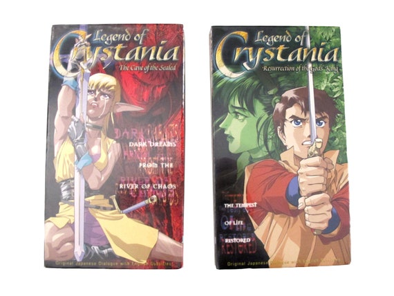 Legend of Crystania 2 x VHS