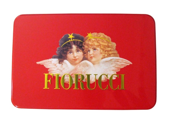 Fiorucci Cherubs Red Tin Case