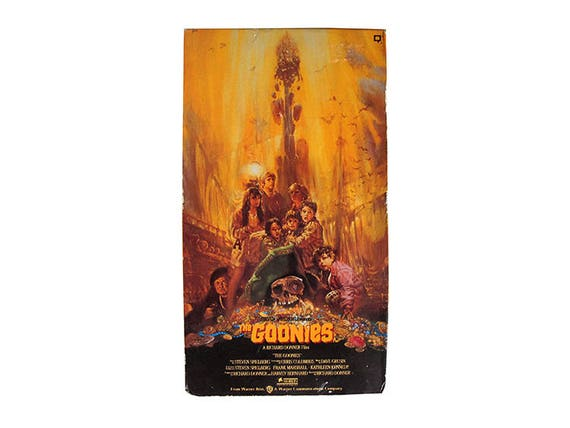 The Goonies VHS