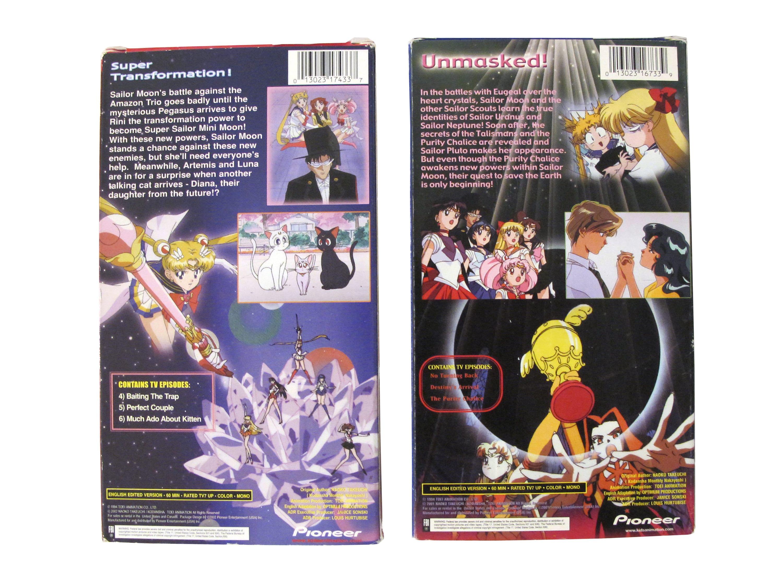 Sailor Moon Super S & S 2x VHS