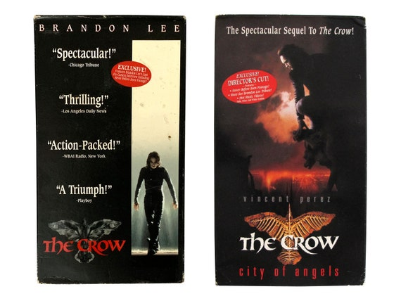 The Crow & The Crow 2 City of Angels 2x VHS