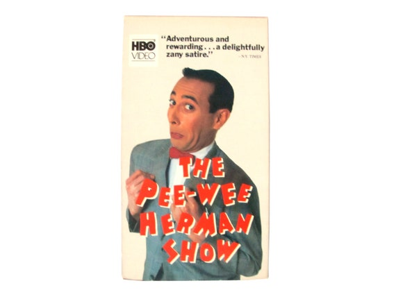 The Pee Wee Herman Show VHS