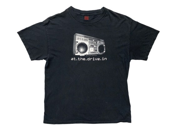 At the Drive In Stereo Boombox T-Shirt