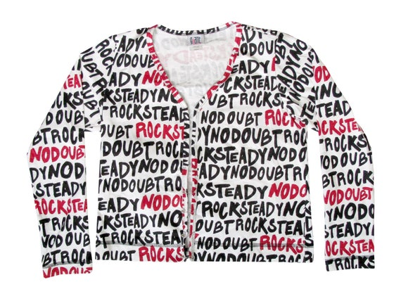 No Doubt 'Rock Steady' All Over Print L/S Shirt