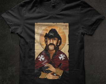 Lemmy Motorhead Icon,heavy metal, rock, rocknroll tshirt