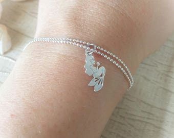 Mermaid bracelet in sterling silver 925