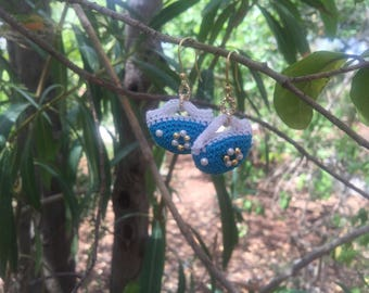 Sicilian Jewelry - Handmade Sicilian Bag Stuffed Earrings