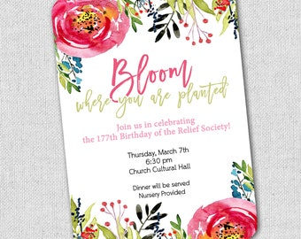 d300d930767 garden party flower invitation