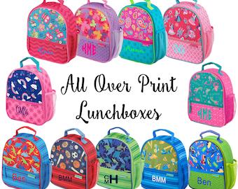 Lunchbox / Stephen Joseph / Lunch tote / Personalized Lunchbox / Lunchbox with Name / Lunch Tote with Initials / Lunch Bag / Monogram