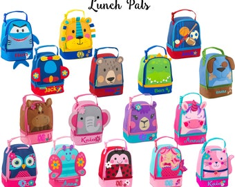 Personalized Stephen Joseph Lunch Box / Monogrammed Lunchbox