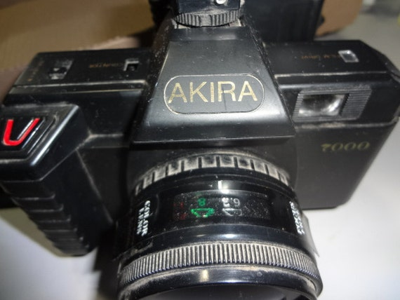 Vintage AKIRA 7000 Camera 35 Mm 50mm Lens