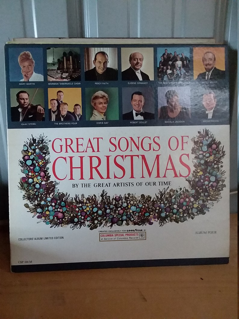 1950,s Great songs of Christmas Record Album four