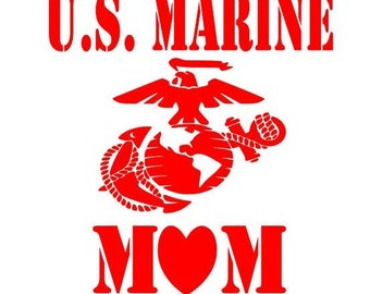 marine mom decal, yeti Marine Corps  Love  Decal,  Marine Corps Decal, Love Decal, mom decal, usmc mom decals, Marine decals