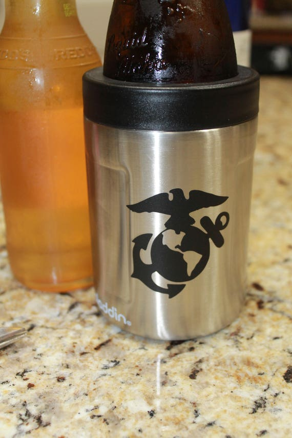 Marine Corps Decal, Yeti decal, Marine decal, EGA Decal, USMC Decal, USMC Decals, Marine Decals, Tumbler cup decals, cup decal, 20 oz decal