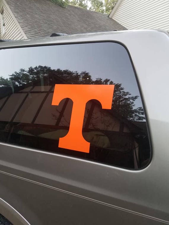 Tennessee decal, football decal, Volunteers decals, univerity Tennesee decals, tennessee vols Football, football decals, stickers