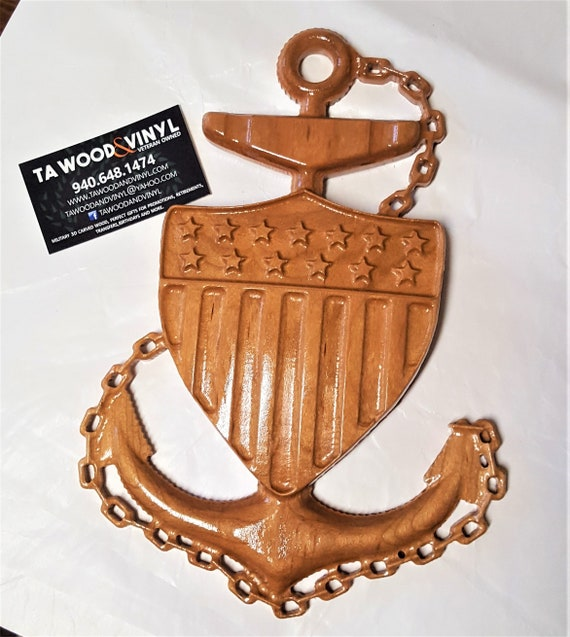 Chief Coast Guard Chief, Coast Guard Wood, Carved wood Coast Guard, Coast Guard Gifts, Coast Guard Promotion, chief petty officer