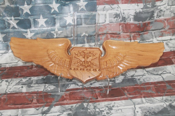 Ready to ship - U.S. Air Force,  Navigator Wings, USAF,Air Force gifts, navigator wings, Air Force navigator, air force promotion retirement