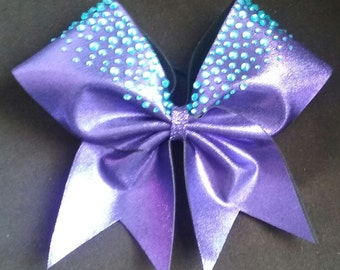 The Scarlett Bow-Cheer bow with hand-placed rhinestones