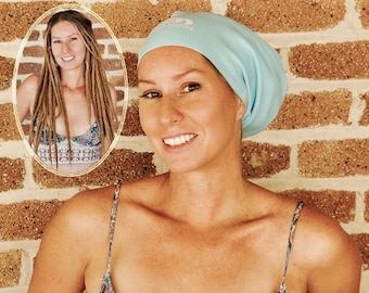 NEW & IMPROVED Extra Large Swim Cap for dreadlocks and braids PLUS free dread band