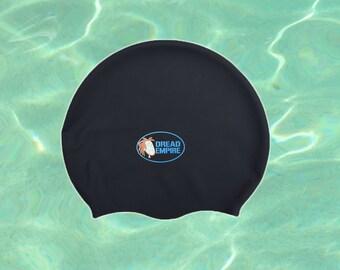 Dreadlocks Swim Cap+ Free Dread Band (Medium Large for dreads, braids and very long hair)
