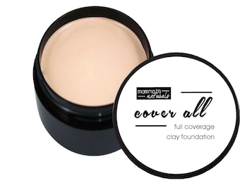 Healing Foundation Makeup Clay Full Coverage Natural