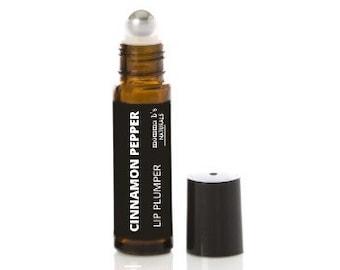 Lip Plumper / Plumping Gloss / Cinnamon / Clove / Black Pepper / Natural