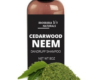 Dandruff & Psoriasis Shampoo with Neem Oil