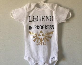 6401fdaf8 Legend of zelda baby   Etsy