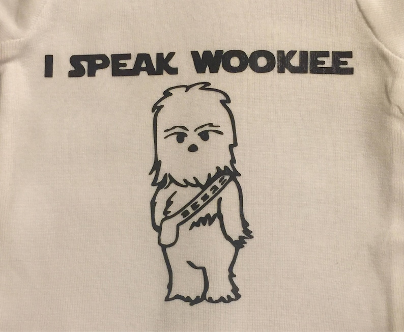 Star Wars Wookie Onesie